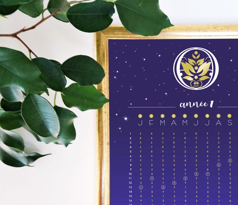 Mes calendriers lune-numérologiques